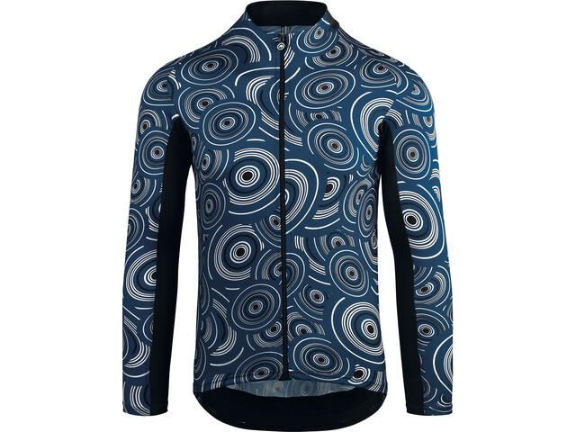 assos Mille GT Summer LS Jersey Herren caleum blue